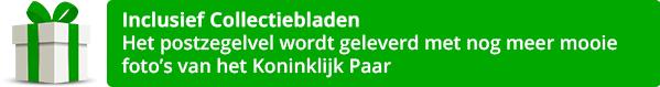 Postzegelvel Koning Willem-Alexander met korting